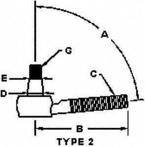 Elgin ES2147RL Steering Tie Rod End