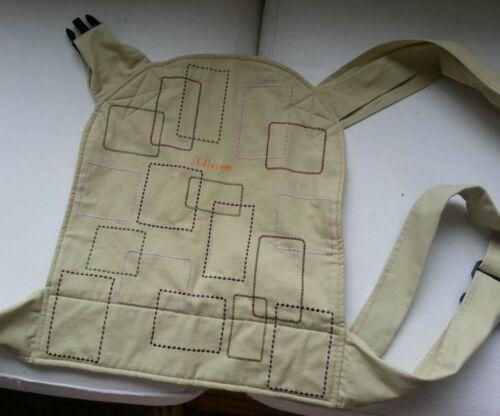 Ellaroo Mei Hip Baby Carrier EUC London Pattern Organic Cotton, new $85 in Baby, Baby Gear, Baby Carriers & Slings | eBay