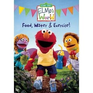 Elmo's World - Food, Water & Exercise! (...