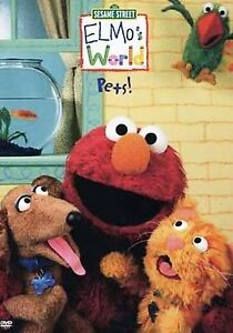 Elmo's World - Pets! (DVD, 2006)