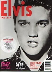 Elvis-Presley-Magazin-CD-1956-1959-SCHWEDISCH-SWEDISH