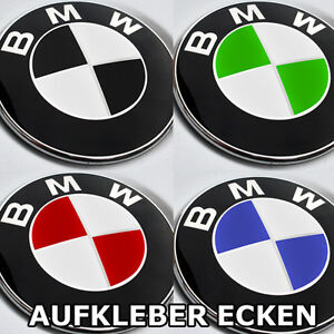 emblem aufkleber bmw e36 e46 e90 e91 e92 e93 e60 e81 e87 z4 z3 f10 82 logo ecken ebay. Black Bedroom Furniture Sets. Home Design Ideas