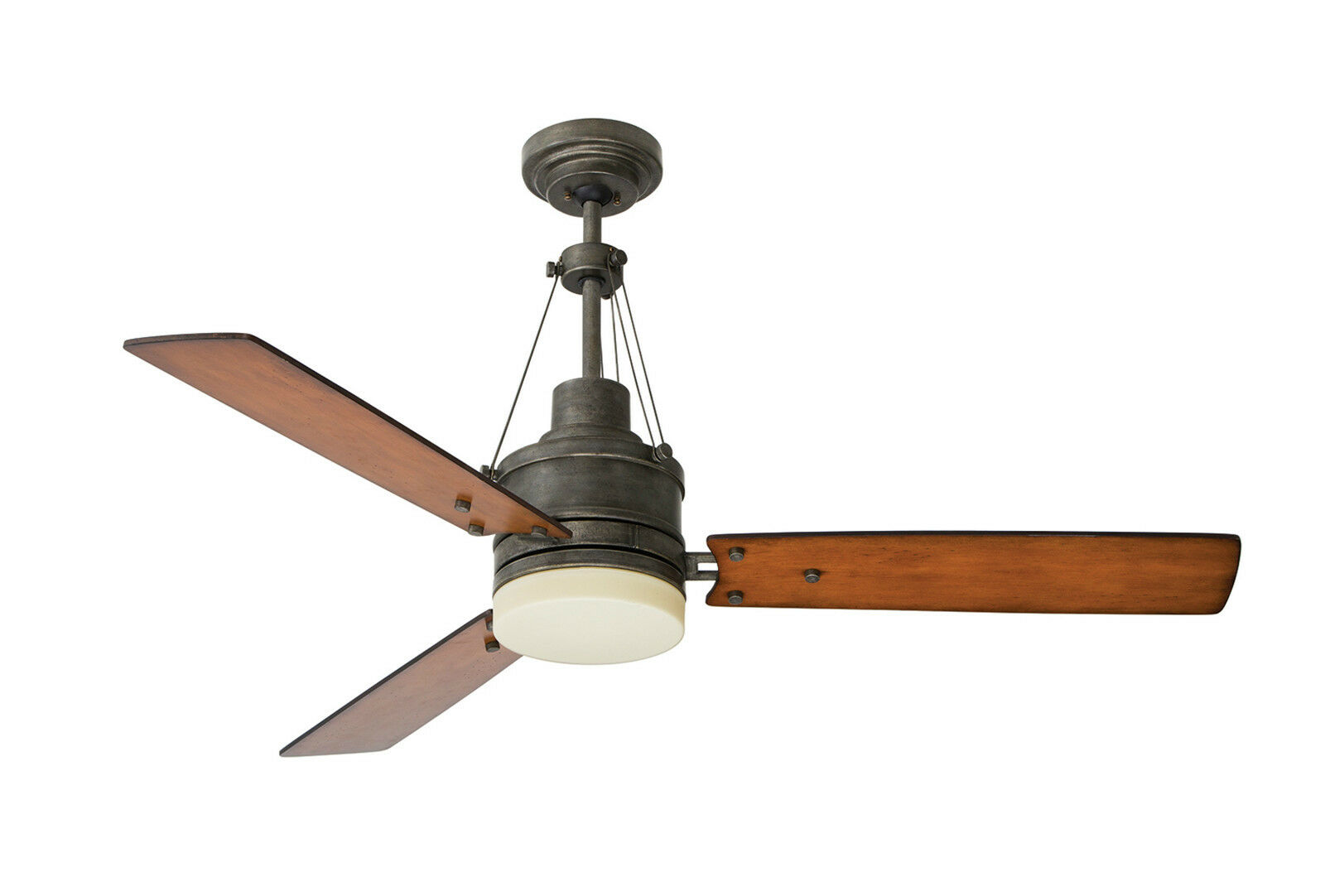 Old Ceiling Fans : Emerson quot highpointe vintage steel remote ceiling fan