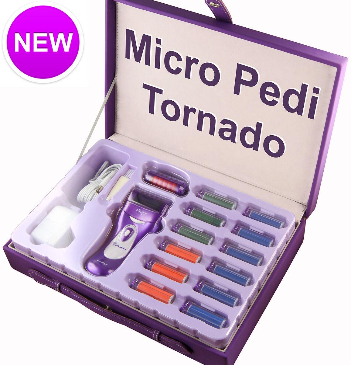 Emjoi Micro Pedi Tornado Rechargeable Professional Kit