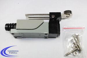 Endschalter-Rollenstoessel-250V-5A-verstellbarer-Rollenhebel-Schalter-IP64