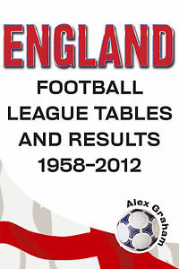 England football league tables and results 1958 2012 for English league 3 table