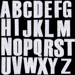 englisch alphabet buchstaben zeichen 7cm a b c d z bis z bestickt zum aufb geln ebay. Black Bedroom Furniture Sets. Home Design Ideas
