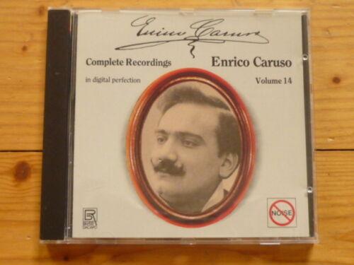 Enrico Caruso Grabaciones Completas Vol 14 New