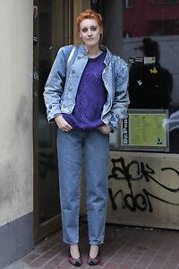 ernesto italy damen jeans jacke jacket blau blue 80er true vintage 80 s women ebay. Black Bedroom Furniture Sets. Home Design Ideas