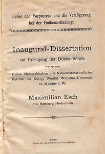Esch-Verzoegerung-Funken-Entladung-Dissertation-1908