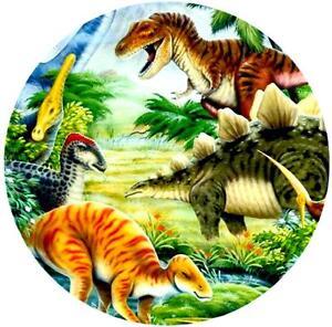 essbarer tortenaufleger dinosaurier tortenbild tortendeko t-rex zuckerpapier | ebay