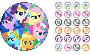 Essbarer-Tortenaufleger-My-Little-Pony-Filly-DVD-Deko-NEU-Muffin-Tortenbild-Buch