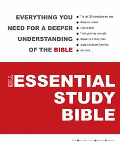 The Essential Study Bible by American Bi...