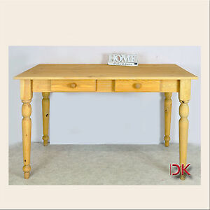 Esstisch tisch k chentisch 120x80 kiefer massivholz for Massivholz esstisch 120x80