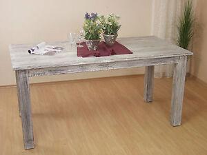 Küchentisch Massivholz Ausziehbar Weiß : Esstisch in 3 Größen weiß Massivholz Akazie Esszimmertisch Tisch ...