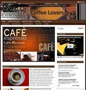 Established 'COFFEE LOVERS' Website For Sale ....(Websites by SITEGAP) in Business & Industrial, Businesses & Websites for Sale, Internet Businesses & Websites | eBay