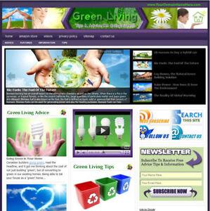 Established 'GREEN LIVING ' Website Business For Sale ....(Websites by SITEGAP) in Business & Industrial, Businesses & Websites for Sale, Internet Businesses & Websites | eBay
