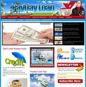 Established 'PAYDAY LOAN'  Turnkey Website For Sale  ....(Websites by SITEGAP) in Business & Industrial, Businesses & Websites for Sale, Internet Businesses & Websites | eBay