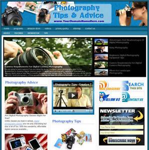 Established 'PHOTOGRAPHY ' Ready Made Website For Sale ....(Websites By SITEGAP) in Business & Industrial, Businesses & Websites for Sale, Internet Businesses & Websites | eBay