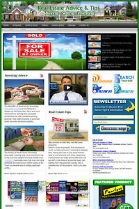 Established 'REAL ESTATE' Website Business For Sale ....(Websites by SITEGAP) in Business & Industrial, Businesses & Websites for Sale, Internet Businesses & Websites | eBay