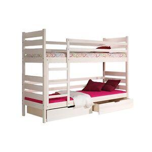 etagenbett kinderbett hochbett kiefer massivholz darek ebay. Black Bedroom Furniture Sets. Home Design Ideas