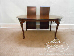 Dining Table Ethan Allen Queen Anne Dining Table