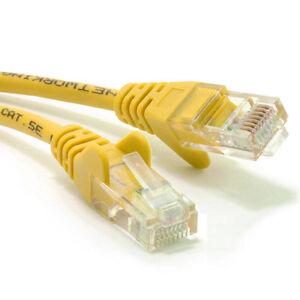 ethernet kabel gelb netzwerk rj45 cat5e utp patch 26awg cca 3 m ebay. Black Bedroom Furniture Sets. Home Design Ideas