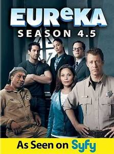 Eureka: Season 4.5 (DVD, 2012, 3-Disc Se...
