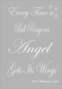 Everytime A Bell Rings An Angel Gets Its Wings It's A ...