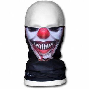 Evil-Clown-Biker-Motorrad-Maske-Tube-Multifunktionstuch-Bandana-Schlauchtuch
