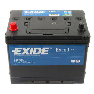 exide excell car battery type 031 3 year guarantee ebay. Black Bedroom Furniture Sets. Home Design Ideas