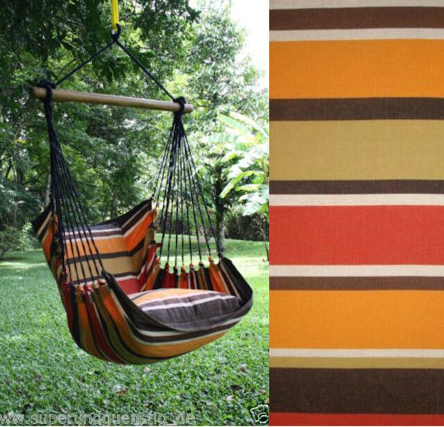 exp gestreifter h ngesessel h ngestuhl sessel karl mit ohne kissen zur auswahl ebay. Black Bedroom Furniture Sets. Home Design Ideas