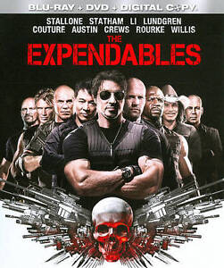 The Expendables (Blu-ray/DVD, 2010, 3-Di...