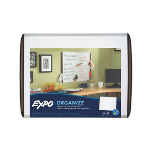 "Expo Magnetic Dry Erase Board, Cork Side Strips, 18"" x 24"" - 1763767"