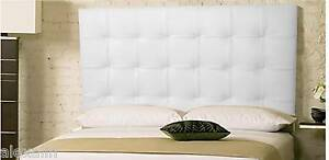 bedroom sets extra tall wall mounted king white leather tufted headboard. Black Bedroom Furniture Sets. Home Design Ideas