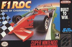 F1 ROC: Race of Champions  (Super NES, 1...