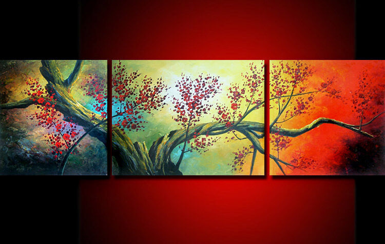 FA MODERN ABSTRACT WALL ART OIL PAINTING ON CANVAS