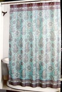 How To Measure Curtain Rods Coral Paisley Shower Curtain