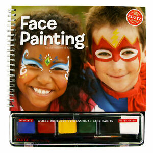 face painting fun kids klutz book amp activity kit with On klutz face painting craft kit