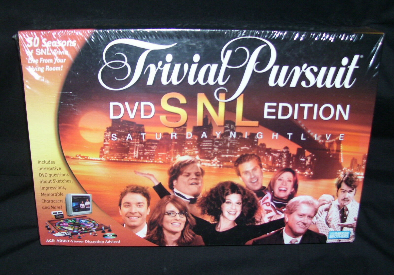 Saturday Night Live DVD Edition of TRIVIAL PURSUIThours of fun