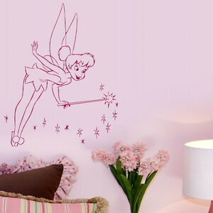 nursery kids bedroom wall art stickers girls decals gift nin14 ebay