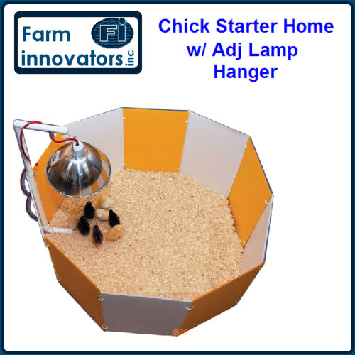 FARM INNOVATORS BABY CHICK CHICKEN QUAIL POULTRY BROODY STARTER HOME CAGE PEN in Pet Supplies, Bird Supplies, Cages | eBay