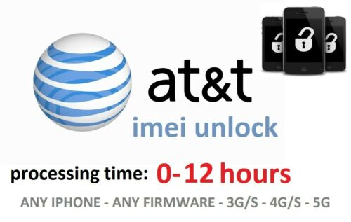 *FAST* FACTORY IMEI UNLOCK AT&T USA for Iphone 3G, 3GS, 4 , 4S, 5 - 0-12 HOURS!! in Specialty Services, Other Services | eBay