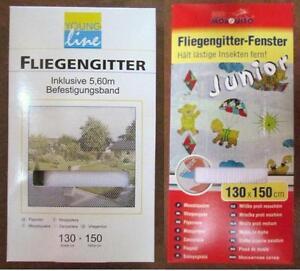 fenster fliegengitter fliegennetz 130x150 in sw o ws ebay. Black Bedroom Furniture Sets. Home Design Ideas