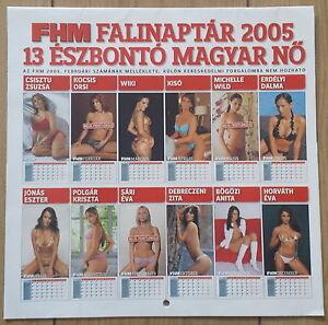 FHM-Calendar-Kalender-2005-Horvath-Eva-Michelle-Wild-Debreczeni-Zita