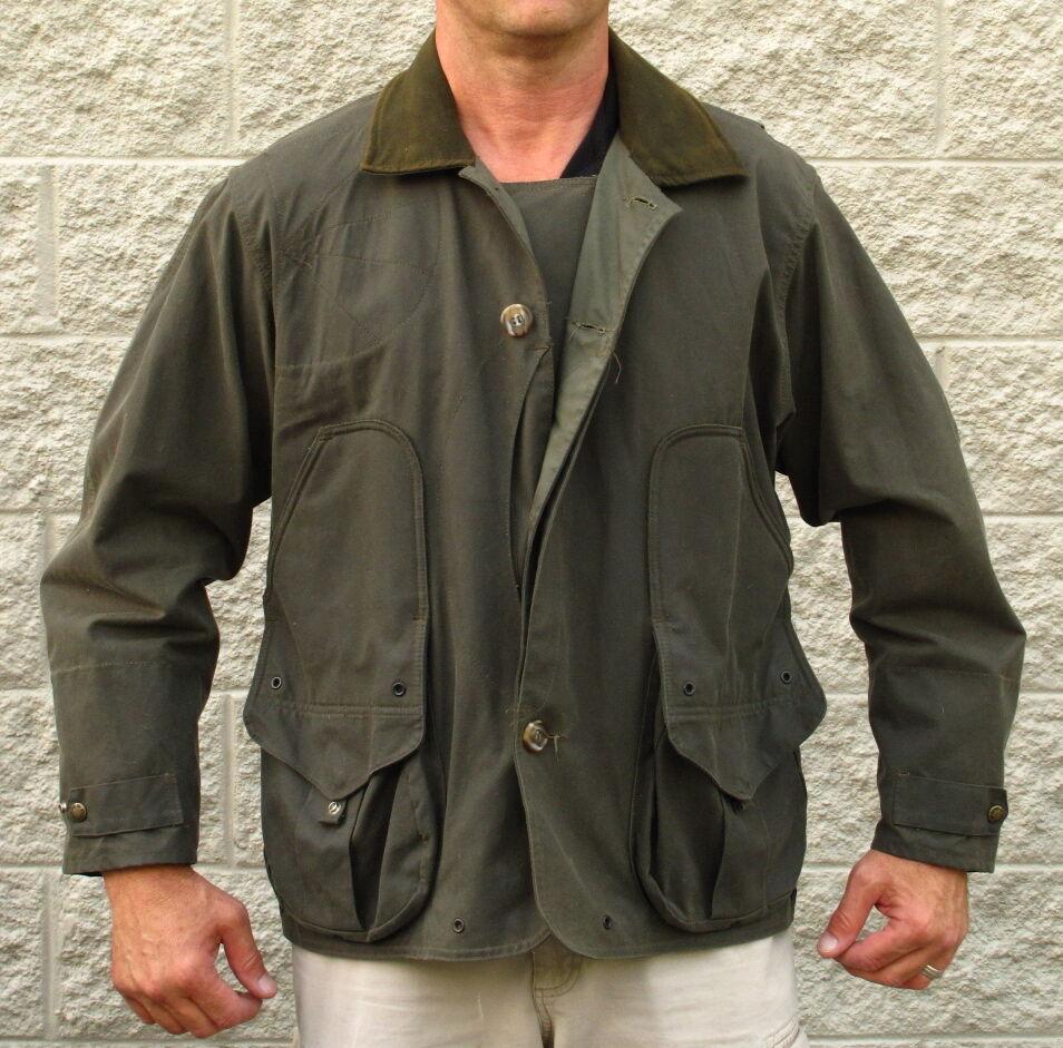 3274bb435f8c4 FILSON SHELTER CLOTH WATERFOWL UPLAND HUNTING COAT JACKET M 10091 on ...