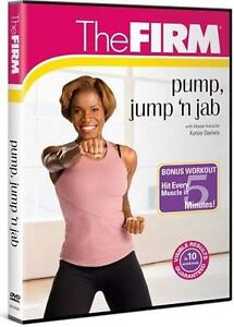 The FIRM - Pump, Jump and Jab (DVD, 2008...
