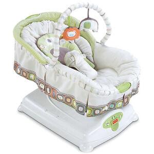 fisher price babyschaukel babywiege babywippe w2089 neu. Black Bedroom Furniture Sets. Home Design Ideas