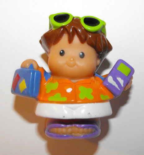 FISHER PRICE LITTLE PEOPLE TOURIST WITH LUGGAGE AND PHONE in Toys & Hobbies, Preschool Toys & Pretend Play, Fisher-Price | eBay