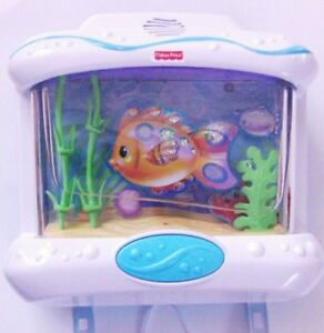 Fisher Price Ocean Wonders Baby Crib Aquarium Music Toy Ebay